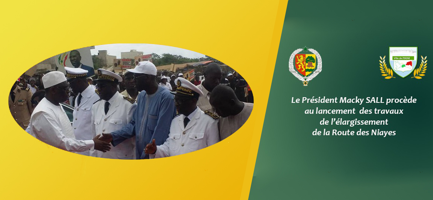 Lancement des travaux d'élargissement de la route des Niayes